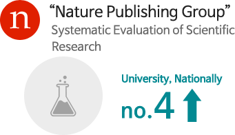 'Nature Publishing Group' Systematic Evaluation of Scientific Research - No. 4 University, Nationally