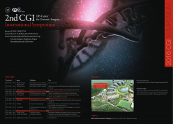 The 2nd CGI International Symposium