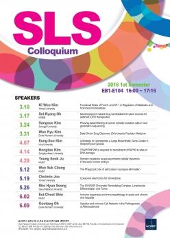 2016 SLS Colloquium: Prof. Eui-Cheol Shin