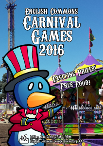 2016 English Commons Carnival Games!