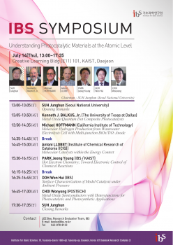 2016 IBS Symposium on Chemistry