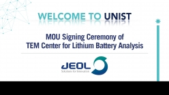 MOU Signing Ceremony: UNIST and JEOL