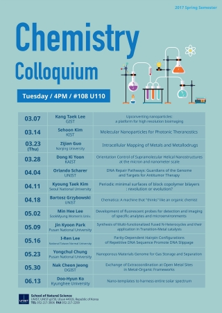 2017 Chemistry Colloquium: Prof. Jin Kyoon Park